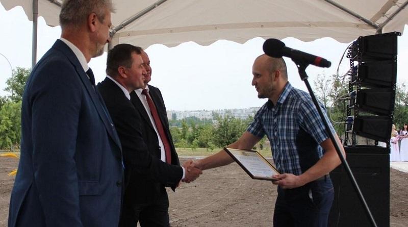 Кращих працівників Южно-Української АЕС відзначено з нагоди Дня Незалежності України