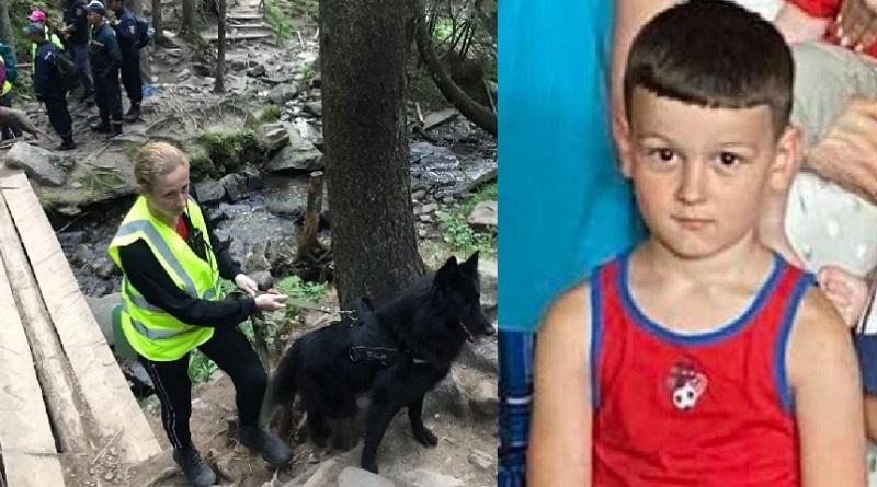 Шестилетнего мальчика, который потерялся на Говерле, нашли (видео)