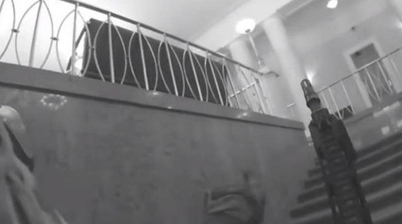 В МВД показали задержание захватчика Кабмина (видео)