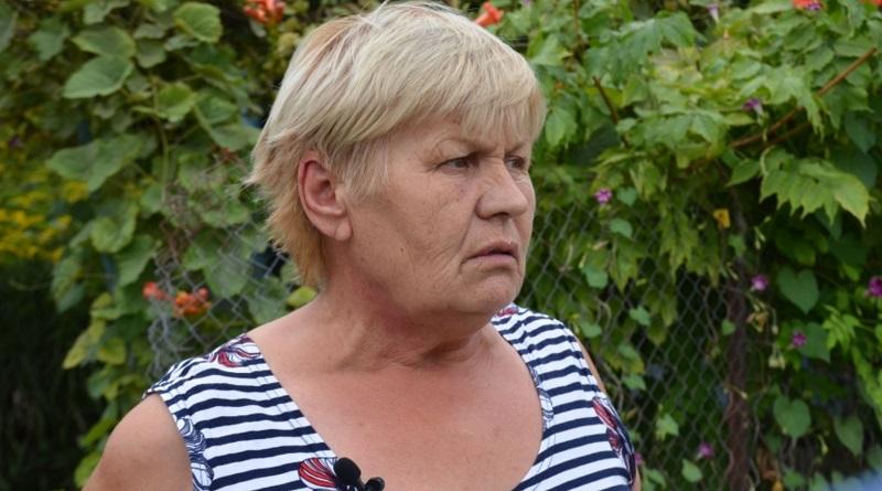 В Новой Одессе местная жительница вынесла из горящего дома троих детей. Видео.