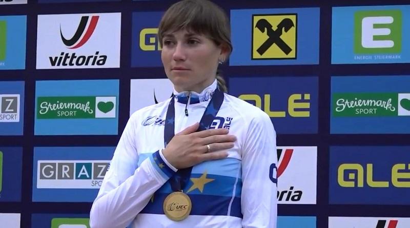 Украинка Попова выиграла бронзу чемпионата Европы