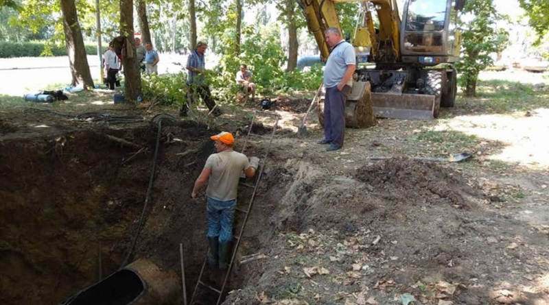 В Южноукраинске порыв канализации: горожан просят ограничить пользование водопроводом