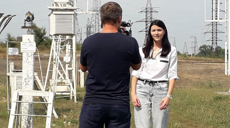 ТРК «Україна» зацікавив клімат на ЮУАЕС