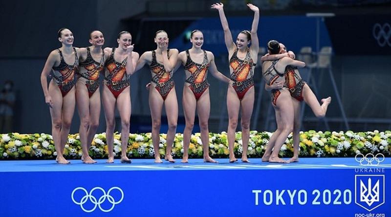 Украинские синхронистки выиграли историческую бронзу Олимпиады в Токио