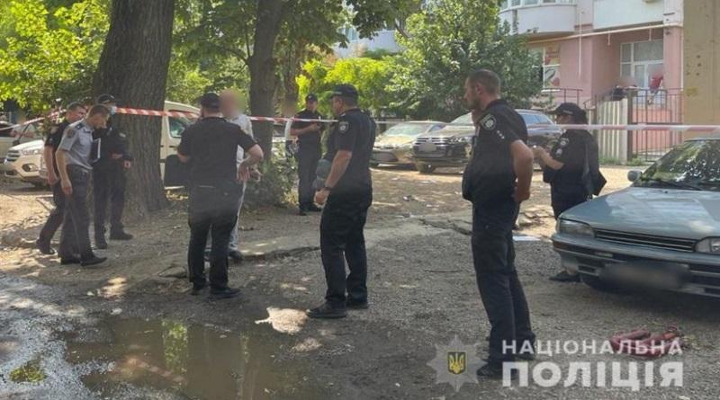В Одессе средь бела дня расстреляли предпринимателя (видео)