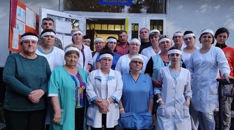 На Львовщине медики объявили голодовку из-за долгов по зарплате