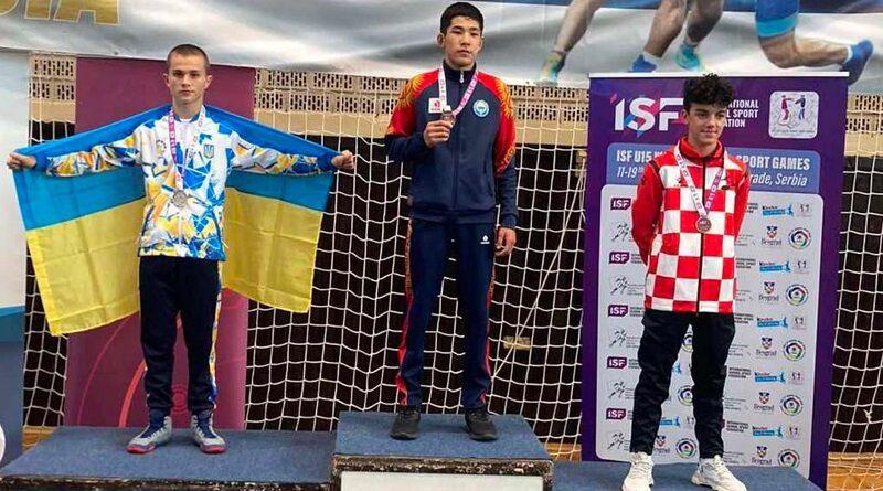 Южноукраїнськ - Вихованець «Олімпу» - призер перших Всесвітніх учнівських спортивних ігор