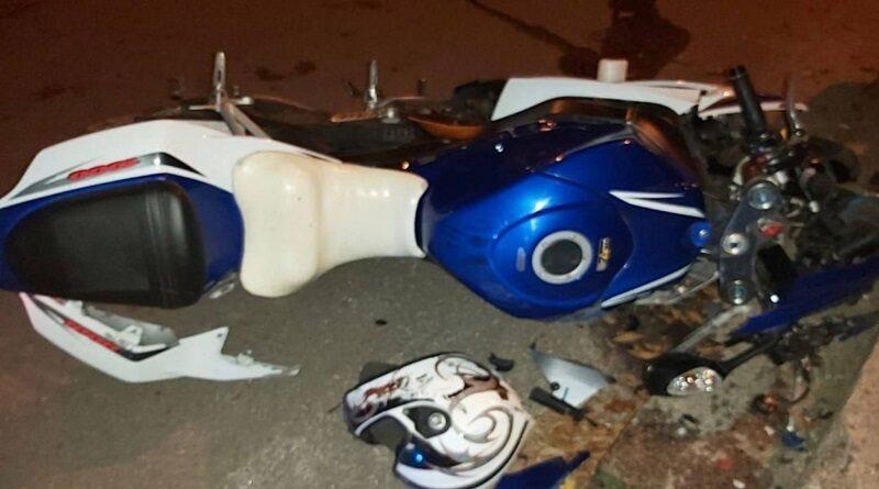 В Вознесенске мотоцикл въехал в бордюр — погибла пассажирка