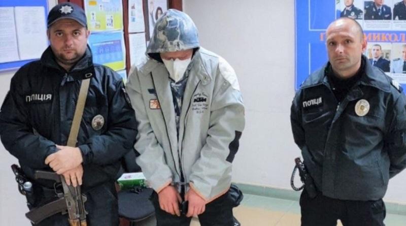 В Южноукраинске полиция охраны задержала пьяного вора во время кражи в магазине