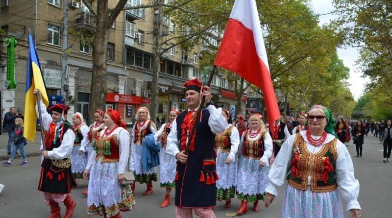 Представители разных народов устроили шествие по главной улице Николаева (видео).