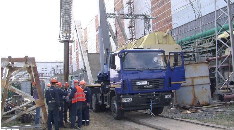 На блочному трансформаторі енергоблока №1 ЮУАЕС виконується капітальний ремонт
