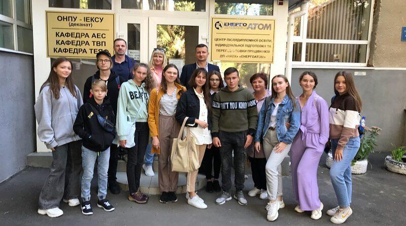 11 потенційних атомників побували в Одеській політехніці