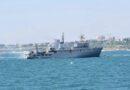 Корабль ВМС ВС Украины, который получил повреждения в Черном море, буксируют в Одессу