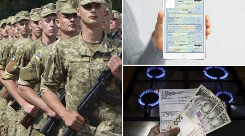 Осенний призыв, е-больничные, новые тарифы на газ и свет: что ждет украинцев в октябре