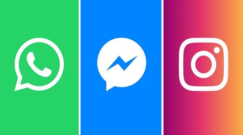 В работе WhatsApp, Instagram и Facebook произошел масштабный сбой