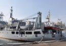 Появилось видео повреждений потерпевшего крушение корабля ВМФ Украины