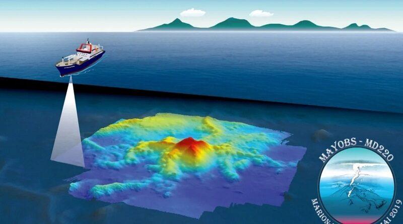 На Земле появился новый вулкан, который спрятан под толщей океана