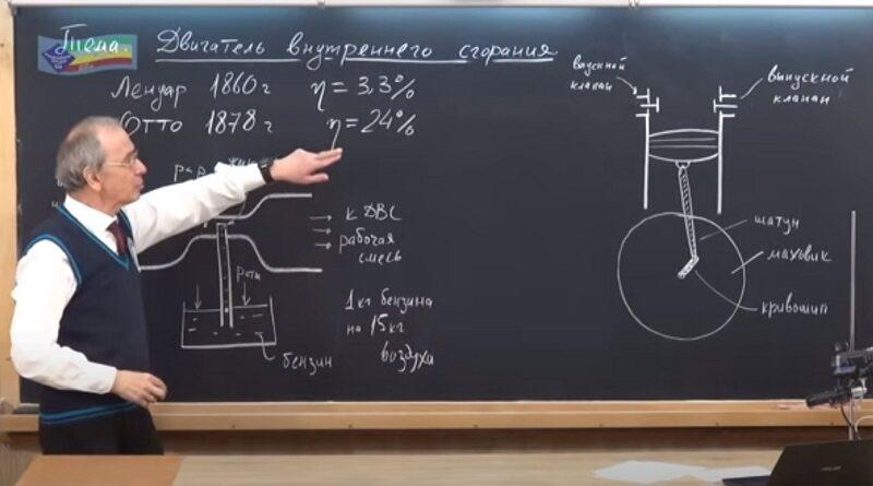 Двигатель внутреннего сгорания. Павел ВИКТОР. Видео лекция.