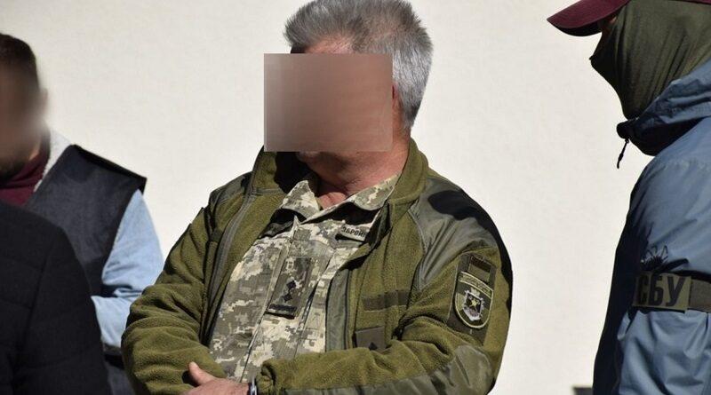 В Николаеве задержали военкома по подозрению в получении взятки. Видео
